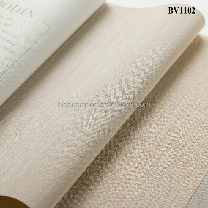 BV1102 HL Decoration commercial use fire resistant fabric backed vinyl wallcovering wallpapers