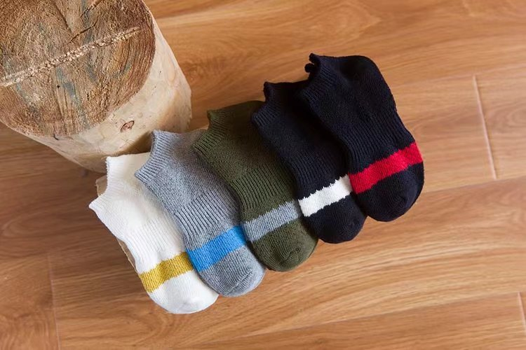 socks, man's ankle socks , classical style thick yarn socks,