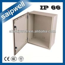 FIBER REINFORCED POLYESTER WITH GLASS UV PROTECTION IP66 BOX