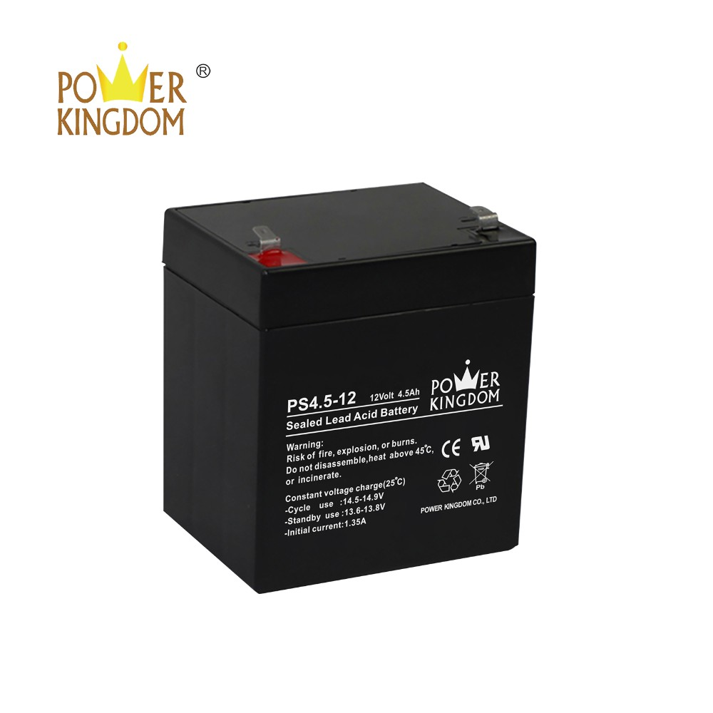 Power Kingdom 105ah agm deep cycle battery wholesale wind power systems-12