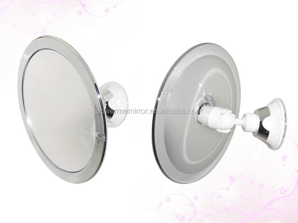 Fogless Shower Mirror Shaving, Flexible Bathroom Wall Mounted Shaving Mirror,  Anti Fog Shower Shaving