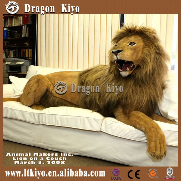 2015 Life Size Mammoth Animatronic Animal Lion For Sale