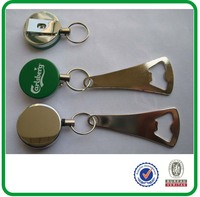 Pull Reel Bottle Opener Bottle Opener with Retractable Clip