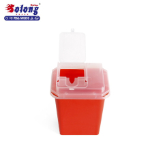 Solong Professionele 1L <span class=keywords><strong>Tattoo</strong></span> Container plastic <span class=keywords><strong>tattoo</strong></span> Naalden Wegwerp Sharp Container