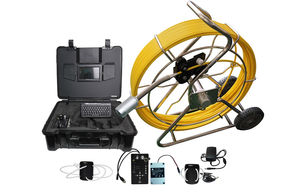 Self Level Pipe Line Inspection Camera with 512 hz sonde