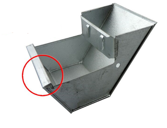 rabbit feed trough/rabbit feeder (rabbit feed trough-08)