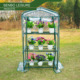 mini flower warm house/ balcony green house /3 tier dish rack