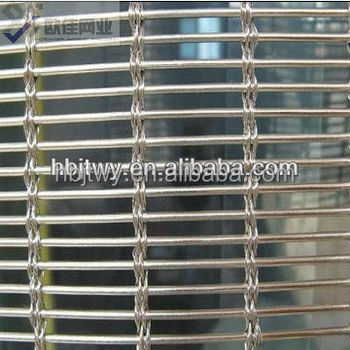 China Factory New Supply Woven Metal Fabric Architectural ...