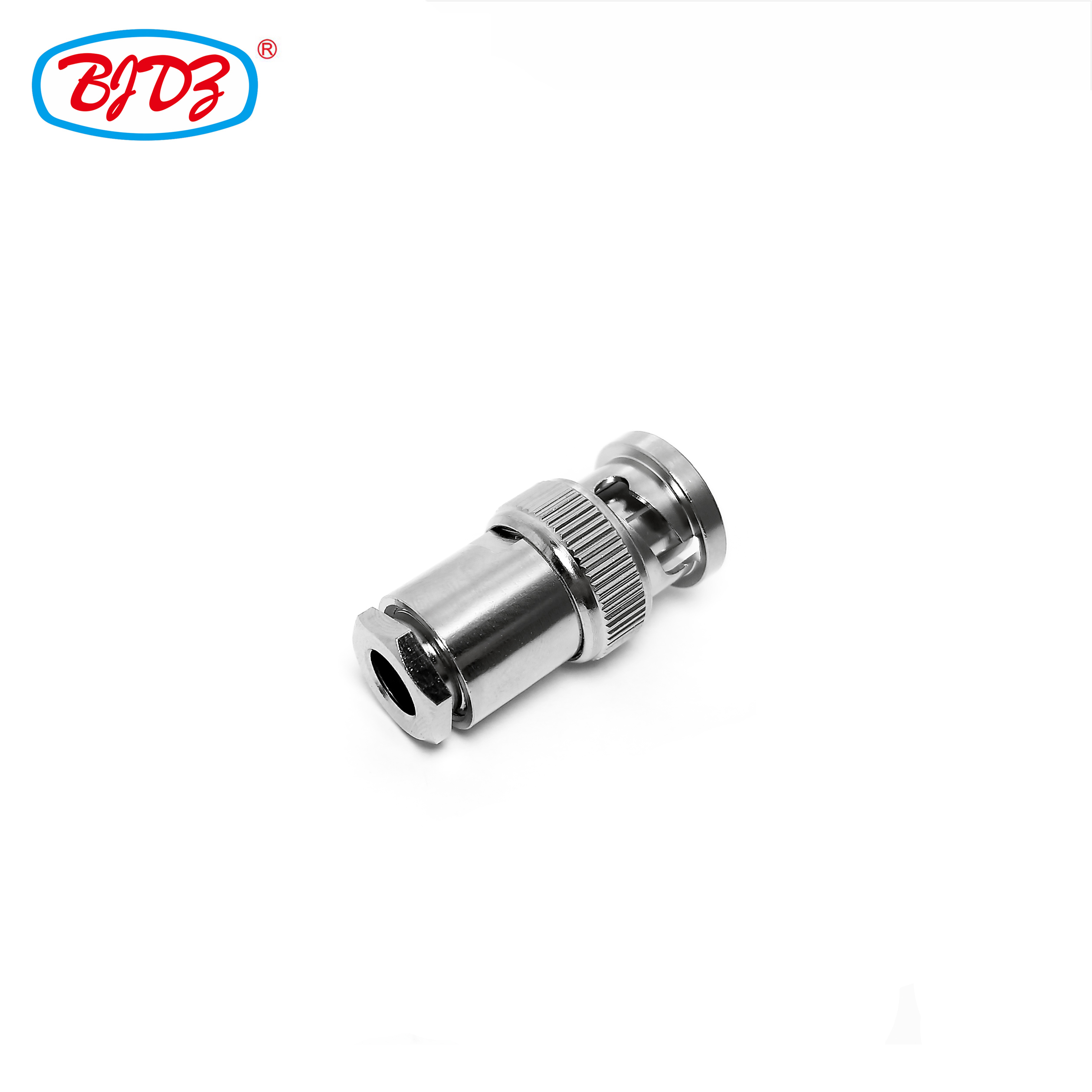 RF coaxial cable connector BNC male plug straight clamp wire connector pole no. RG58