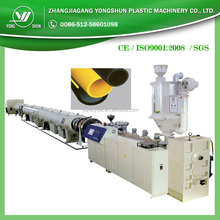 Made in china amazing pe plastic new technology pipe making line