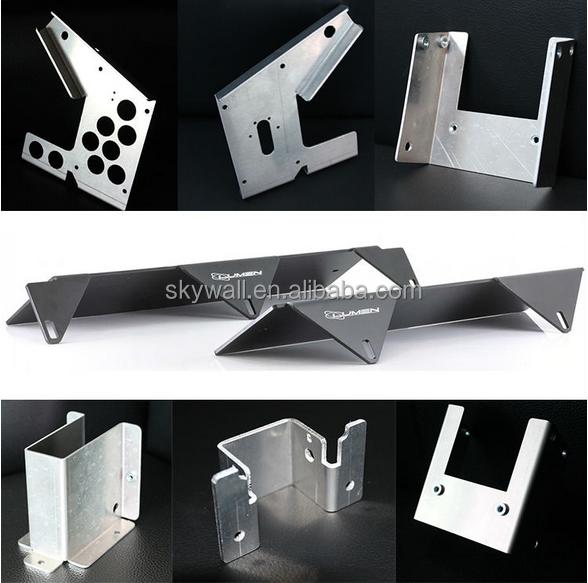 Alta calidad de aluminio soporte de metal fabricaci n de - Planchas de metal ...
