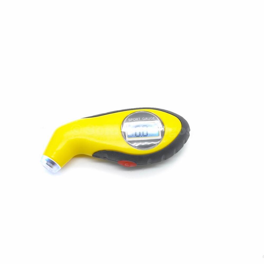 Жк-цифровой дисплей шин шин манометр тестер инструмент для авто автомобиль мотоциклов PSI бар максимальное-81kpa установка с свет