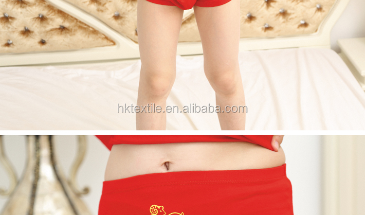 China Supplier Comfortable Healthy Kids Underwear Models