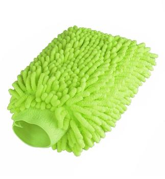 New style auto micro fiber chenille microfibre gloves cleaning dusting glove car microfiber chenille wash mitt