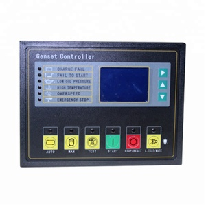 China factory supply auto parts diesel generator controller manual module GU320B genset controller