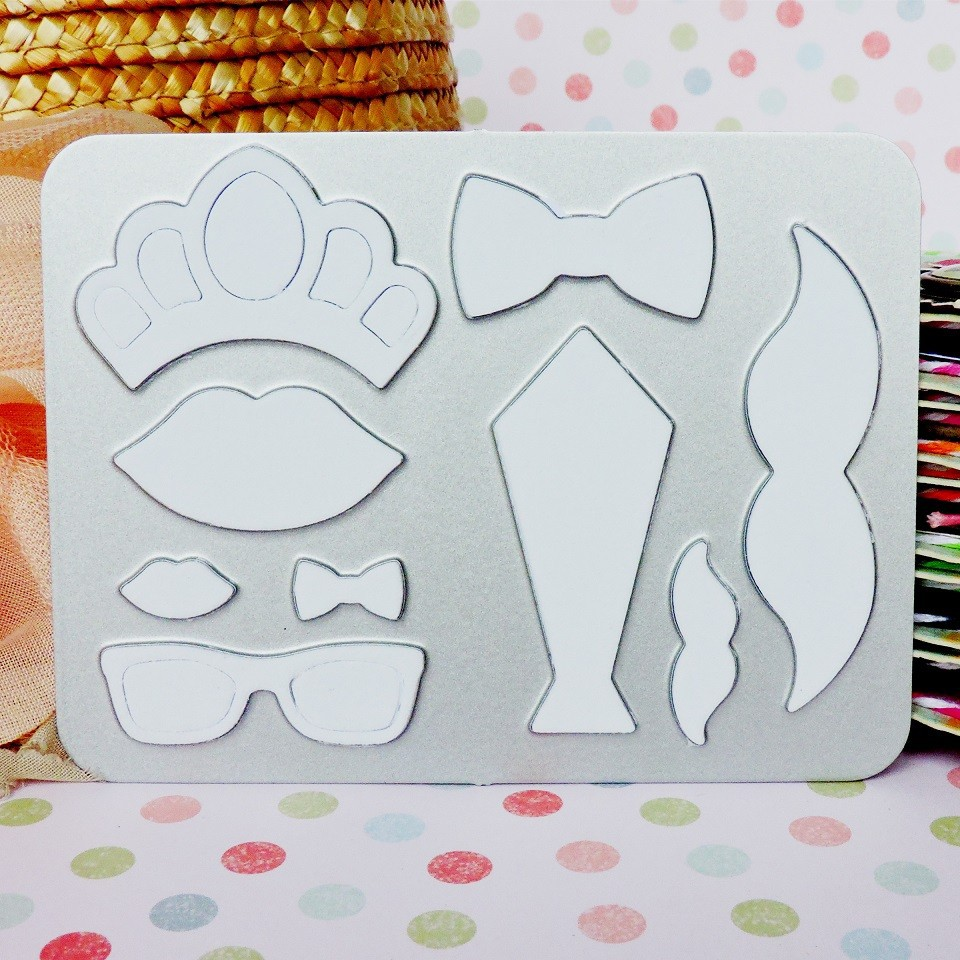 custom sheet metal die cutting stencil for paper craft