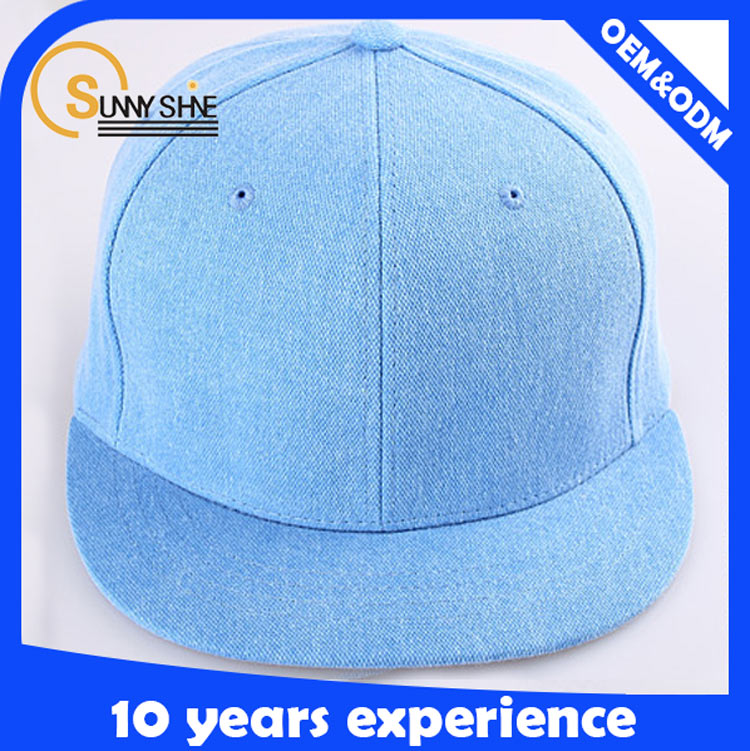 Classic Cotton Free Snapback Hats Adjustable cheap hengxing