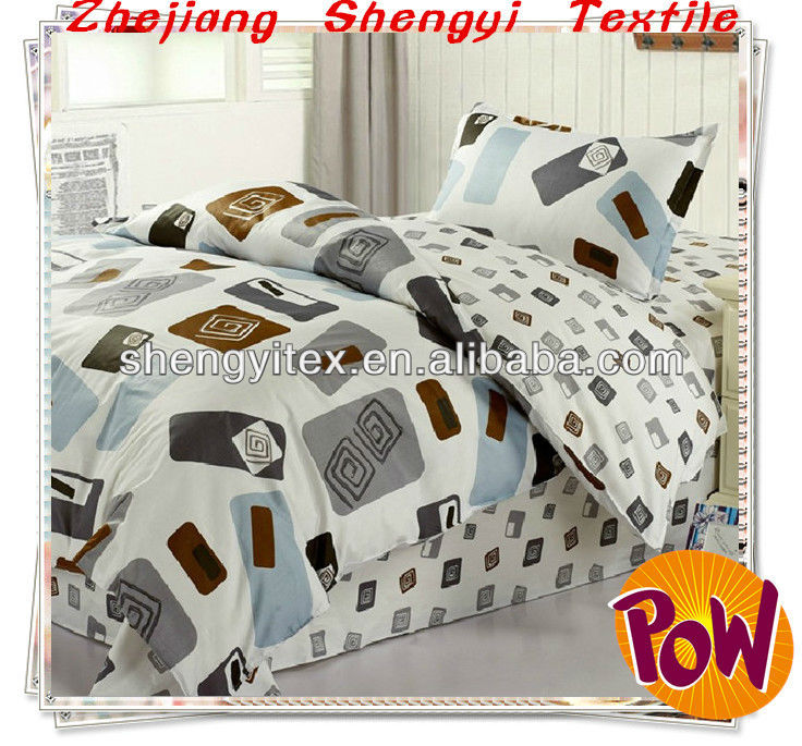 Hot sale Peach Bedsheet/Microfiber Bed Spread/Polyester Bedding