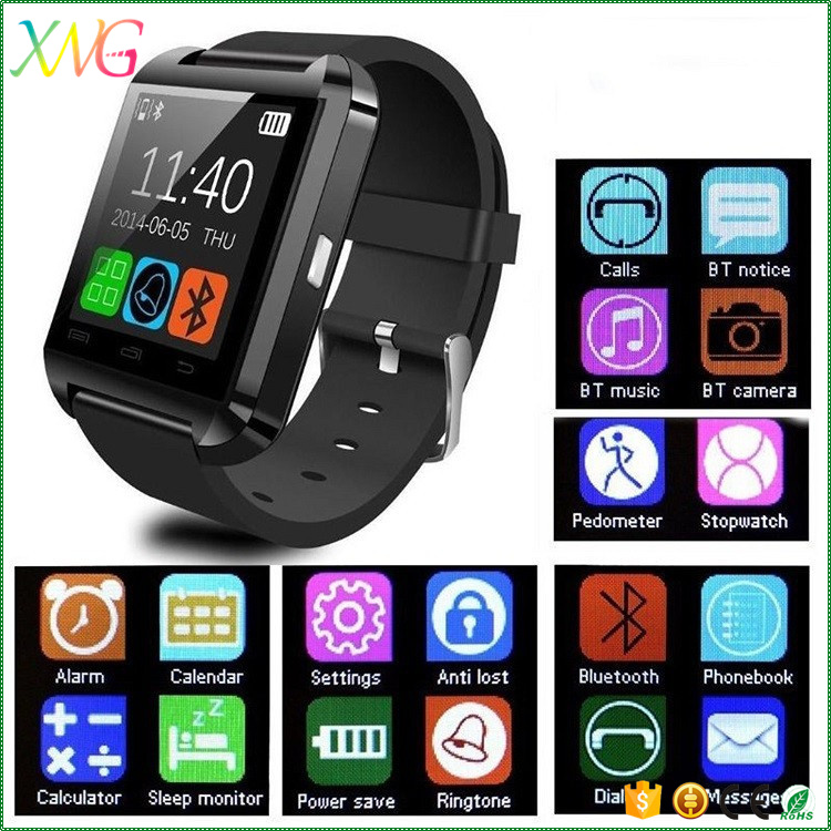 portable online shopping mobile phone dz09 android bluetooth u8 smart watch buy smart phone. Black Bedroom Furniture Sets. Home Design Ideas