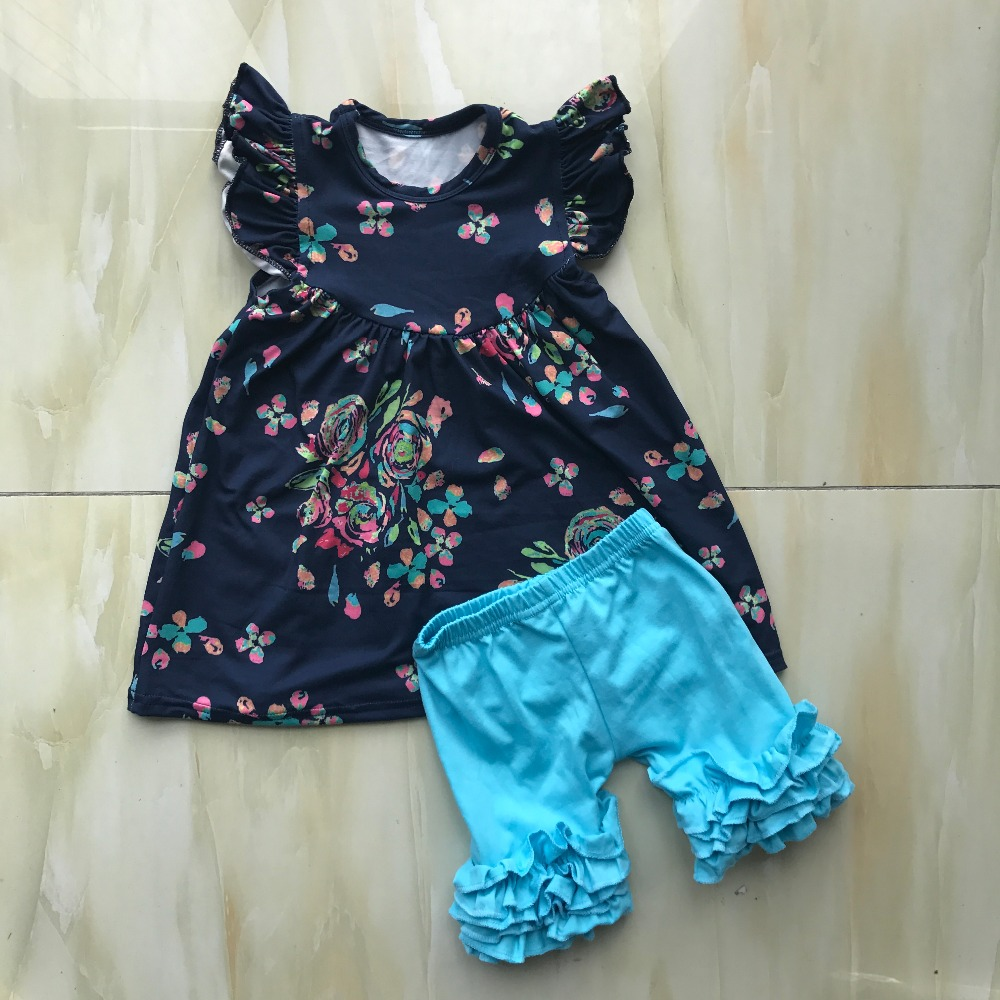 WY-802 Party Wear Kids Dress Clothing Toddler Sites Simple Frock Patterns For Ladies