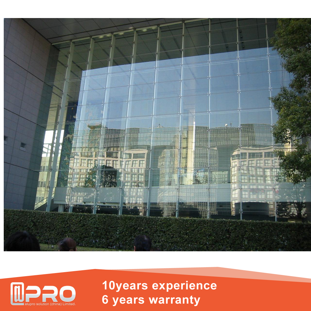Customized Aluminum Translucent Laminated Glass Design Exterior Glass Panel Frameless Glass Curtain Wall Exterior Wall Panels View Exterior Glass Panel Apro Product Details From Guangzhou Apro Building Material Co Ltd On Alibaba Com