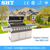 Professional Manufacturer stainless steel outdoor bbq gas grill