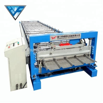 Metal Trapezoidal Sheet Roof Panel Roll Forming Machine
