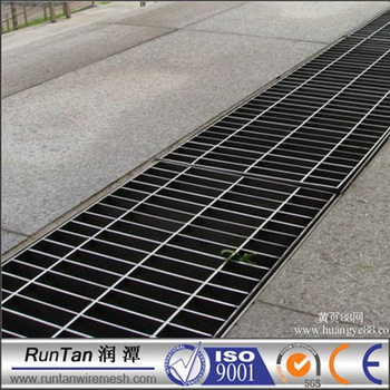 Galvanized Garage Floor Drain Trench Covers Grate Picture