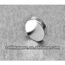 Strong1/2'' dia. x 1/8'' thickN42 Nickel Diametrical Neodymium Disc magnet