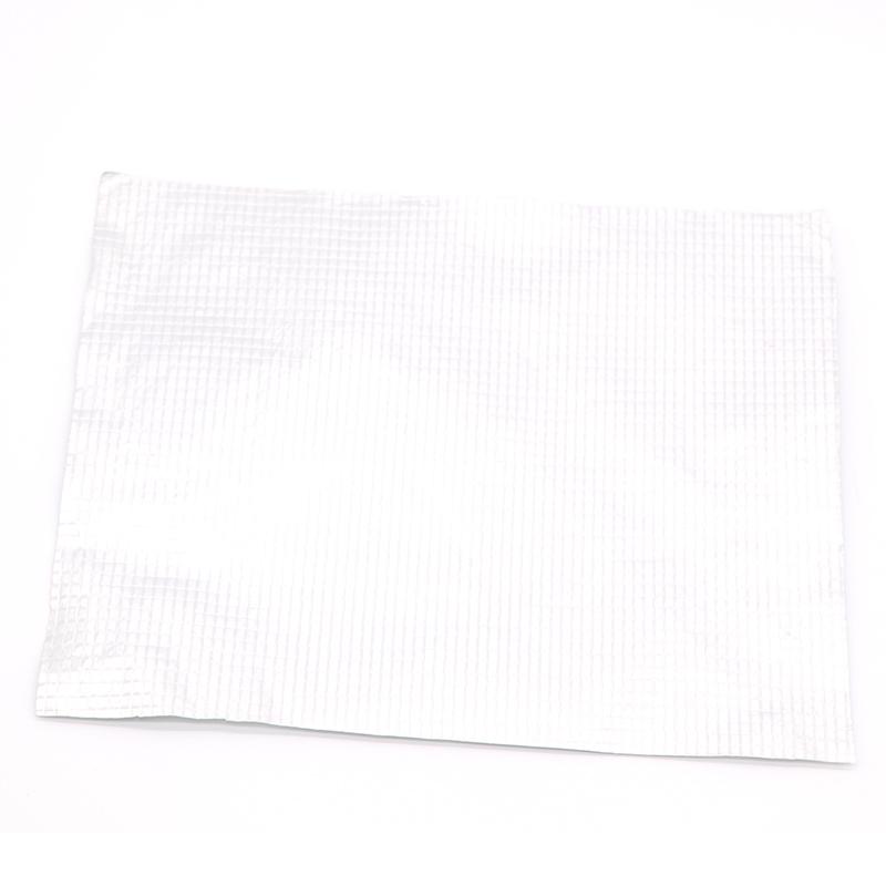 aluminium nonwoven roofing membrane PET Aluminum film +nonwoven fabric woven wire heat insulation fabric