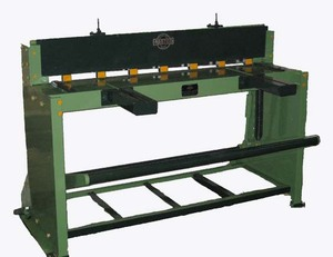 FS foot sheet guillotine shear