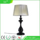 Drum fabric pleated tiffany wire frames led day parts solar table lamp shade