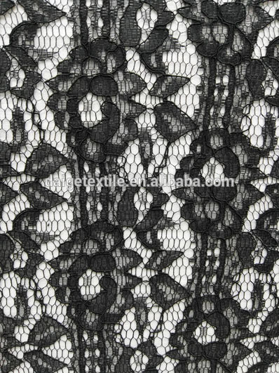 Professional tulle lace fabric sequence