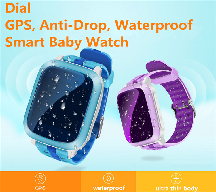 ad6ba8602d40c أسعار الجملة FDS13 الاطفال تعقب الأطفال ساعات ووتش مقاومة المياه ip68 ضرب ضد  gps آمنة للأطفال