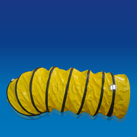 Polyester fabric coated with PVC Portable flex flexible ventilation duct