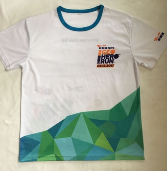 Custom unique design full imprint moisture wicking sport t-shirts sublimation tshirt