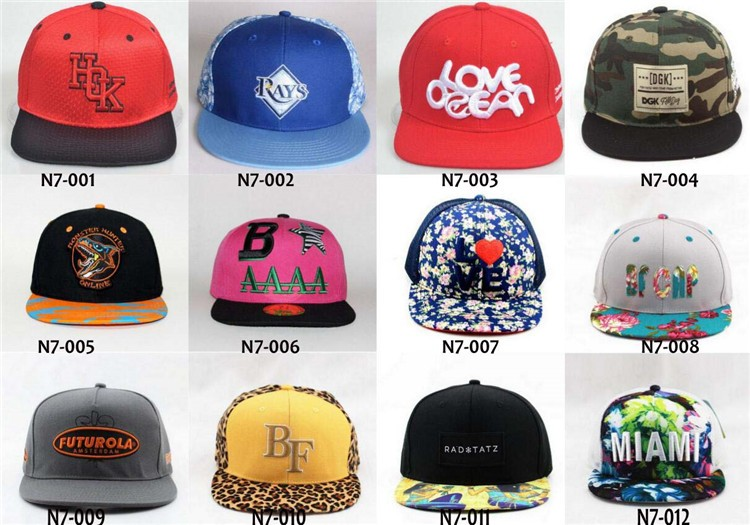 cba0973992a 2017 Fashion 3d printed caps embroidery custom snapback hats