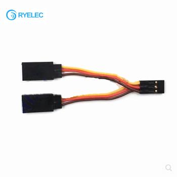 6pin Servo Y Splitter Cable Wire Harness 7cm With Futaba Jr Plug ...