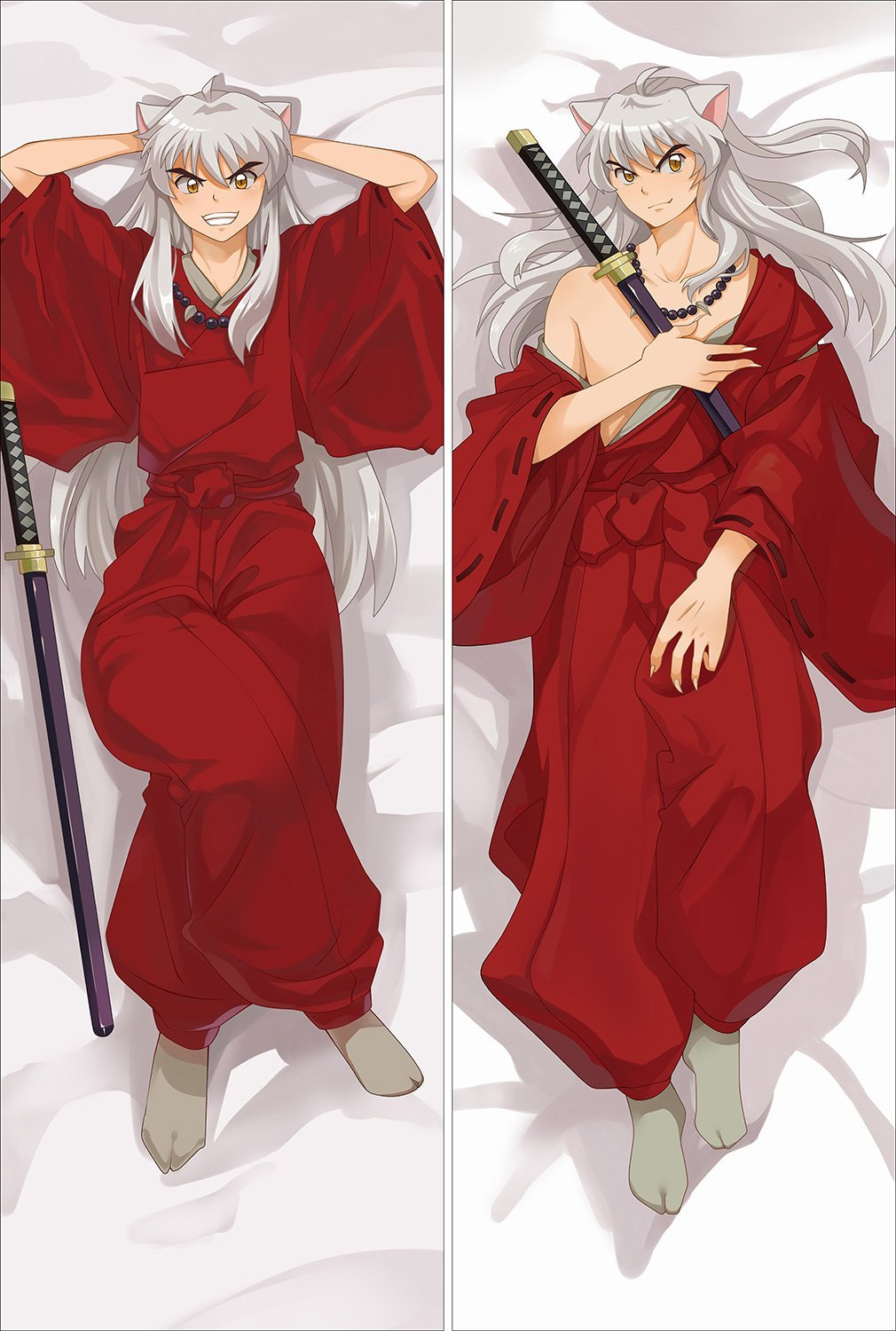 You Loving August 2016 update hot anime Inuyasha: A Feudal Fairy Tale body Pillowcase (50x160cm 2way, 1)