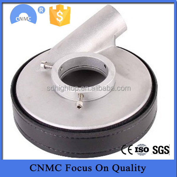 Aluminum Dust shield to cover the dust when hand grinder working accept paypal