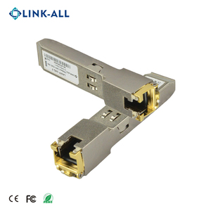 Link-all 10G Base-T copper SFP transceiver module with RJ45 connector