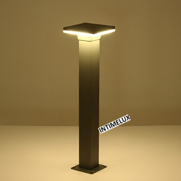 91684-650 decorative square 10w led residential outside bollard lighting