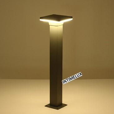 91684-650 decorative square 10w led residential outside bollard lighting
