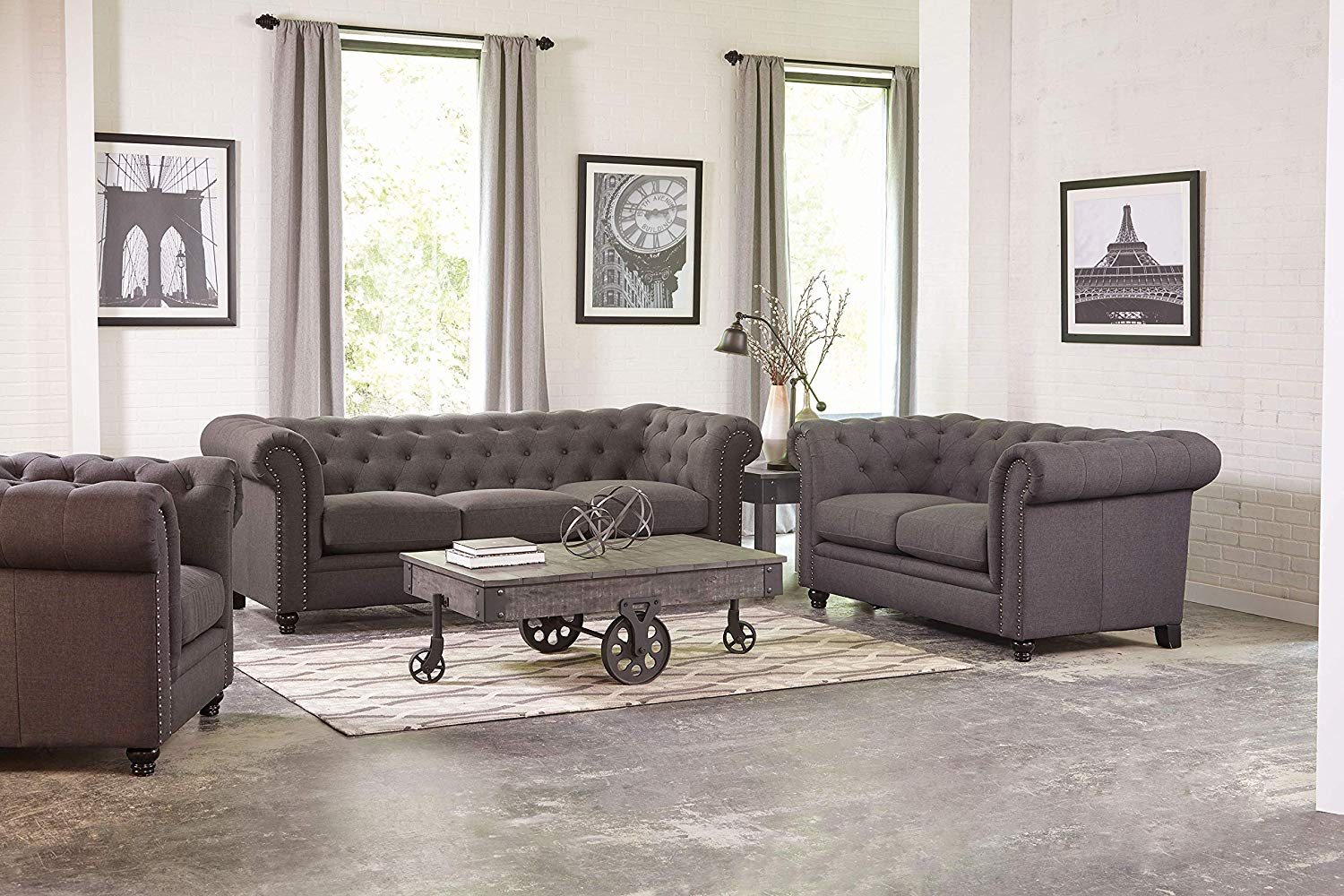 Cheap Tufted Sofa Set Find Tufted Sofa Set Deals On Line At