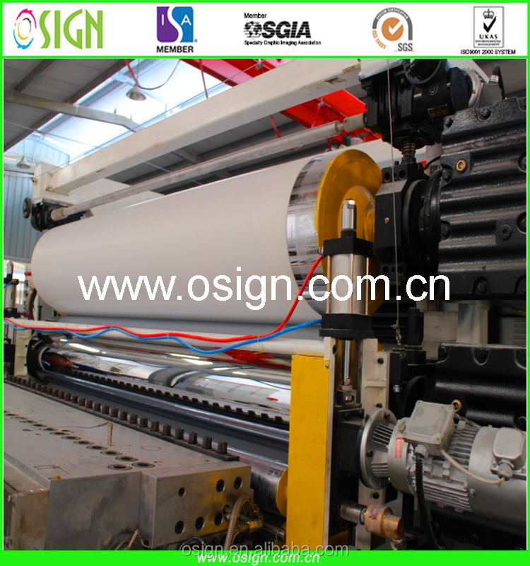 Low Price Advertising PVC Rigid Sheet Material Supplier
