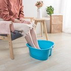 Extra large plastic washing foot tub spa basin