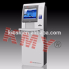 Information check self service fingerprint payment terminal in public areas