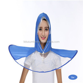 482e5d9a3fe20 newest outdoor foldable UFO cap umbrella for keep you away from wet in  rainy day