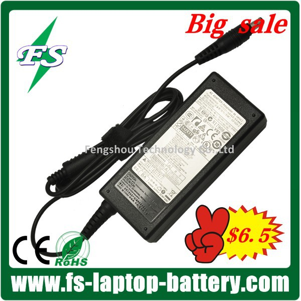 Promotion! 19v 3.16a New Genuine Original Notebook Charger for Samsung Laptop AC Adapter