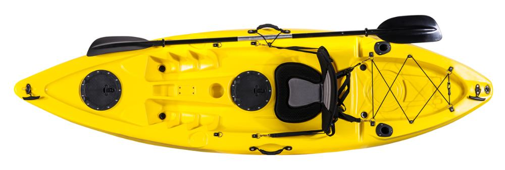 China 5.1m double rotomolded plastic sit in sea kayak